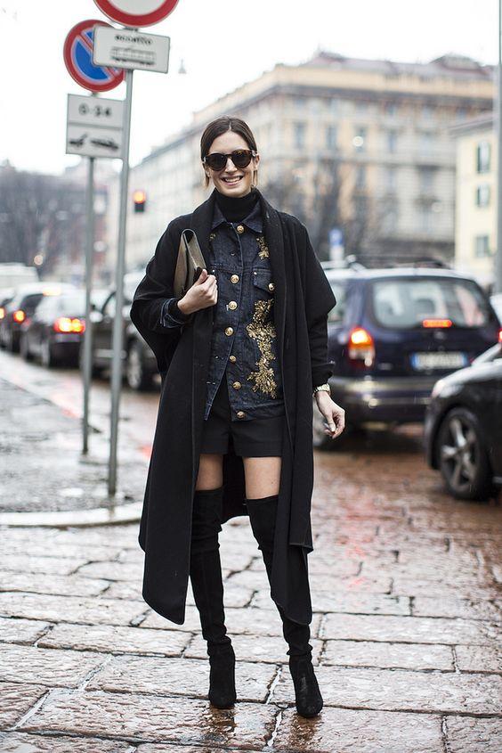 Gala González @ Milan Fashion Week