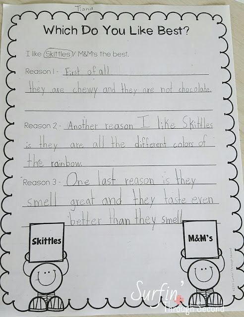 Five For Friday Opinion Writing Activities Persuasive Writing Elementary Writing