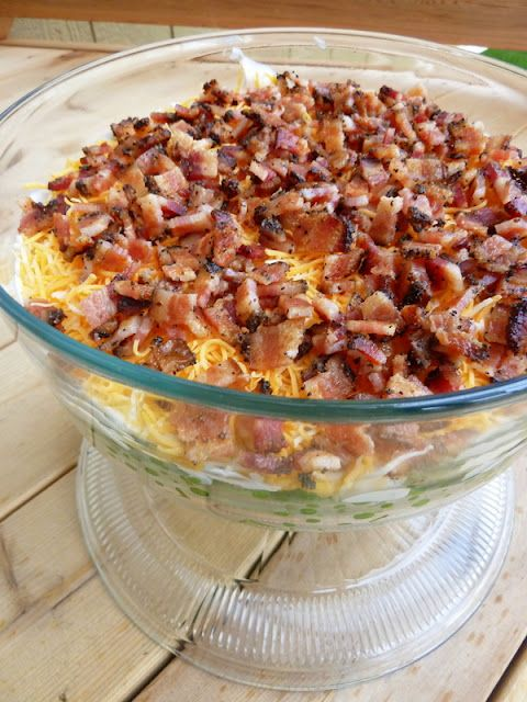 Cookin' Cowgirl: Seven Layer Salad