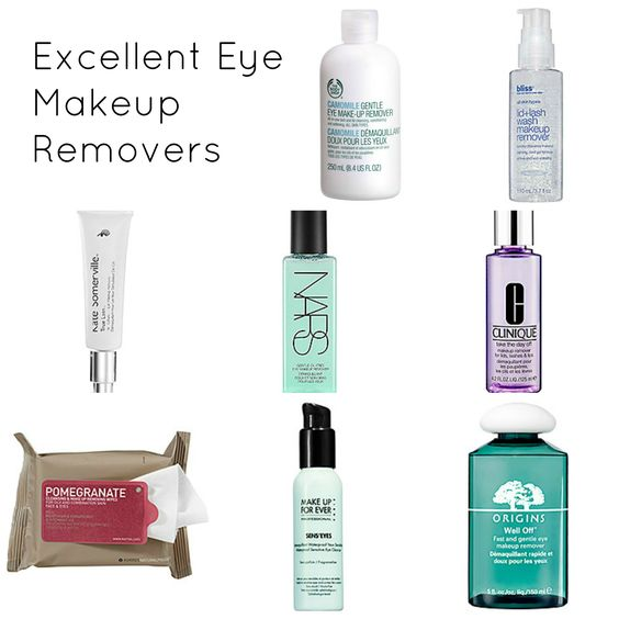 Excellent Eye Makeup Removers // babble