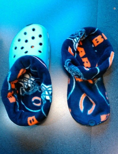 CROCS OR CLOGS GREAT FOR WINTER LINERS FOR CROC SOCKS BLUE