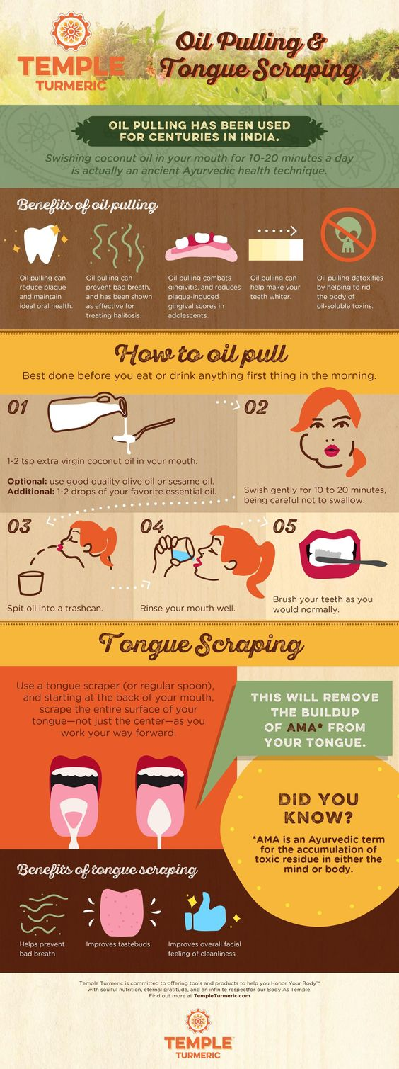 Oil Pulling & Tongue Scraping: What You Need to Know http://www.yoganonymous.com/oil-pulling-tongue-scraping-what-you-need-to-know via @yoganonymous