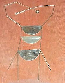 BETTY COOKE STERLING NECKLACE - MODERNIST