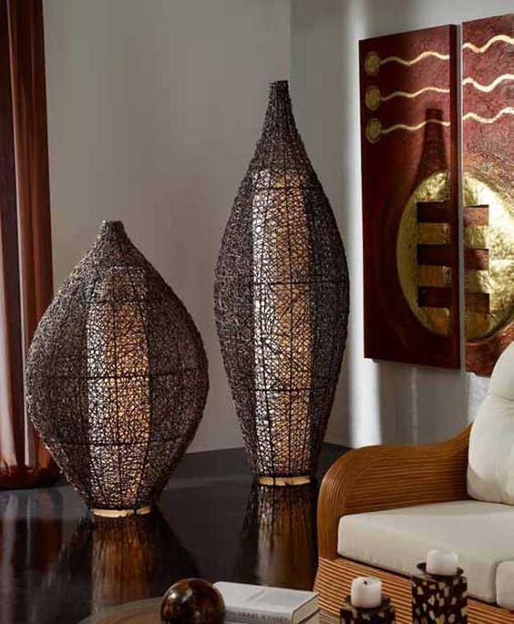 lamparas de pie de estilo etnico asgar ilumiancion beltran tu tienda online con todas