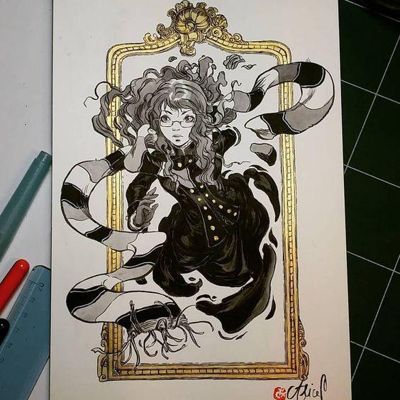 Ophélie (la Passe-miroir) par Alice Picard