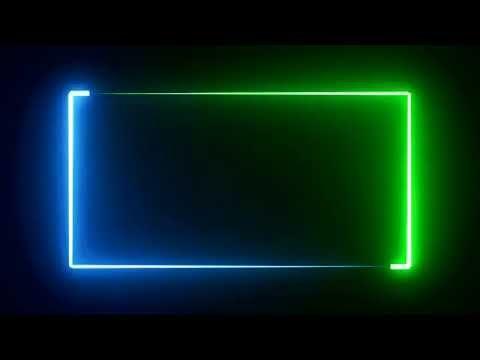 Lighting Borders Template For Avee Player And Kinemaster App 2020