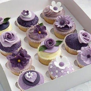 Wedding Cake Papillon Violet