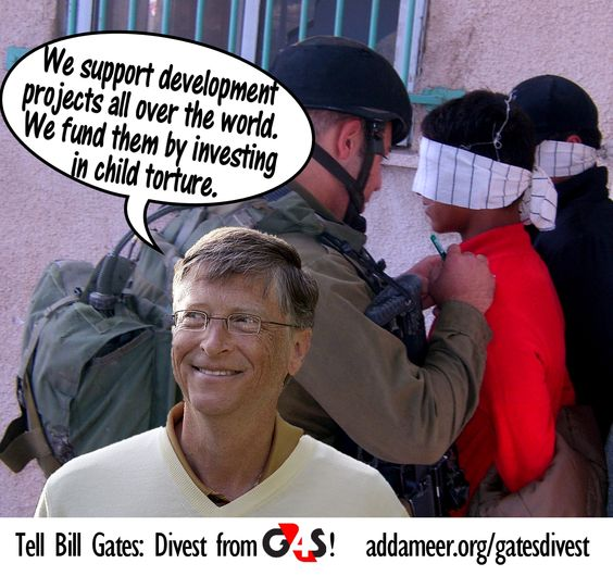 Bill Gates slammed over links to Israel prison torture | BDSmovement.net
