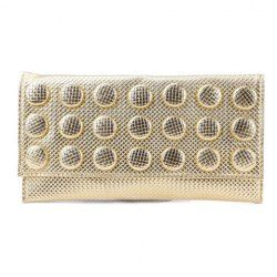 $11.95 Vintage Style Casual Women's Clutch With PU Leather Solid Color and Covered Closure Design