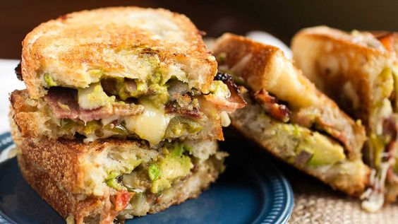 Guacamole Grilled Cheese -
