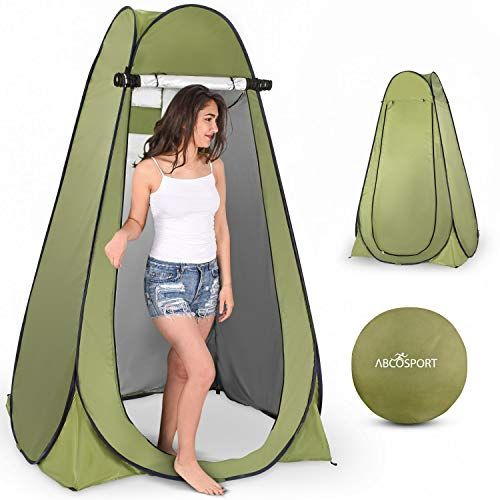 Pop Up Privacy Tent Instant Portable Outdoor Shower Tent Camp