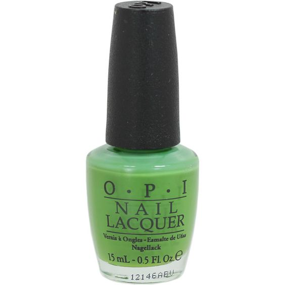 OPI Green-Wich Village Nail Lacquer (£5.10) ❤ liked on Polyvore featuring beauty products, nail care, nail polish, opi nail polish, opi nail varnish, opi nail color, opi nail lacquer and opi nail care