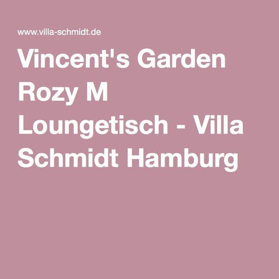Vincent's Garden Rozy M Loungetisch - Villa Schmidt Hamburg
