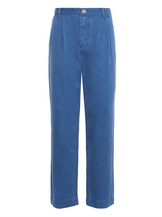 Marc by Marc Jacobs Cotton pleat-front chinos
