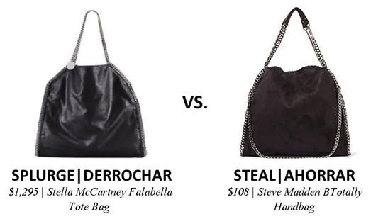 Splurge vs. Steal