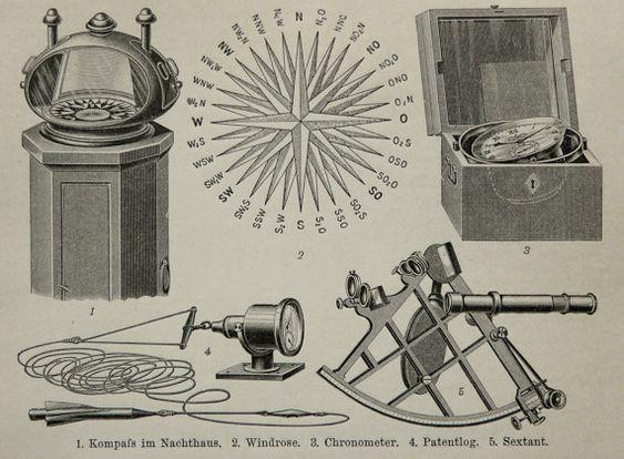 Descripción: Esta impresión original fue impreso en Alemania en 1897 y publicada por el Bibliograph Institut, Leipzig.  TEMA: INSTRUMENTOS DE NAVEGACIÓN NÁUTICA MEDIO: grabado en madera. Última foto muestra el reverso de la impresión TAMAÑO (en pulgadas): 9,4 x 5,8 o 24 cm. x 15 cm. EDAD: 119 años. Era de Victorian. CONDICIÓN: Muy buena conditon   Se trata de un grabado antiguo original de 1897 y no una reproducción moderna!  Grabados antiguos sólo vende sólo originales.  Tenga en cuenta que…