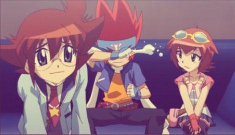 Yuki, Gingka, and Madoka. Beyblade Metal Fury. | Beyblade ...