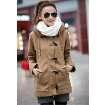 KPOPSTYLE  Womens loose hoodies outwear jacket coat 7013