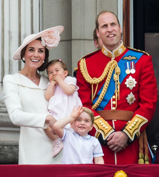 The British Royal Family attended the annual Trooping the Colour ceremony