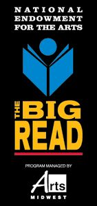 """The Big Read, National Endowment for the Arts, Arts Midwest. This year we're doing """"The Great Gatsby"""""""