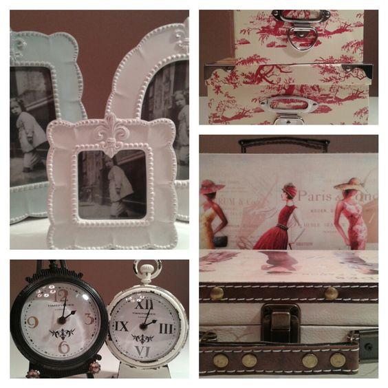#Portaretratos# Relojes #Valijas #Cajas