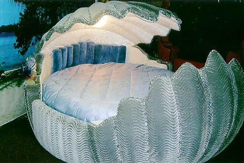 king size oyster shell bed | ♡bedrooms♡ | Pinterest | Beds ...