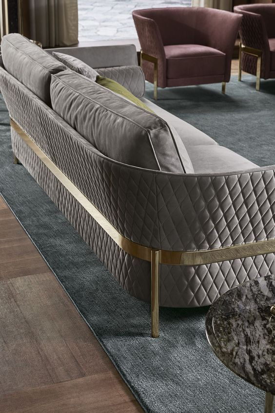 Seductive Curved Sofas For A Modern Living Room Design Modern