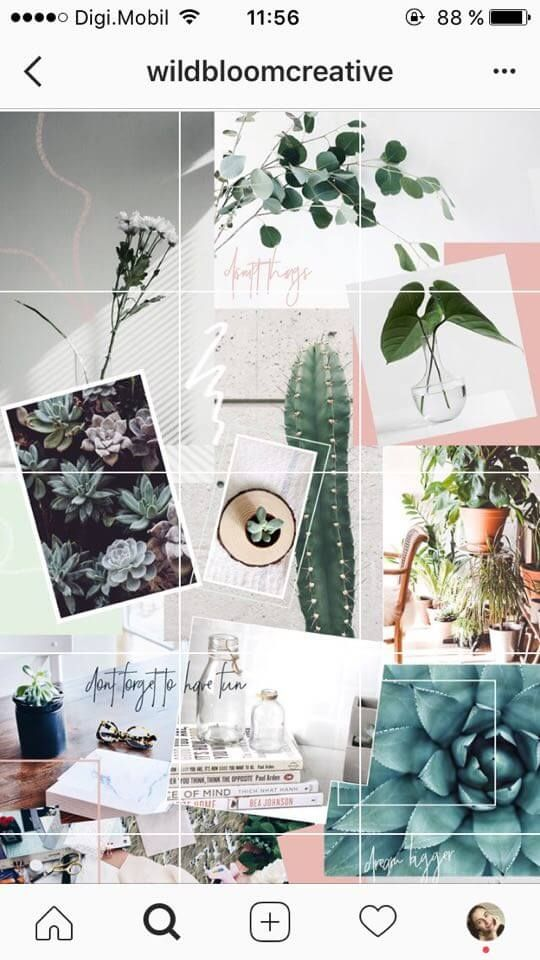 24 Instagram Feed Themes How To Re Create Them All Yourself Instagram Theme Feed Instagram Collage Collage Background Cool instagram wallpaper feeds