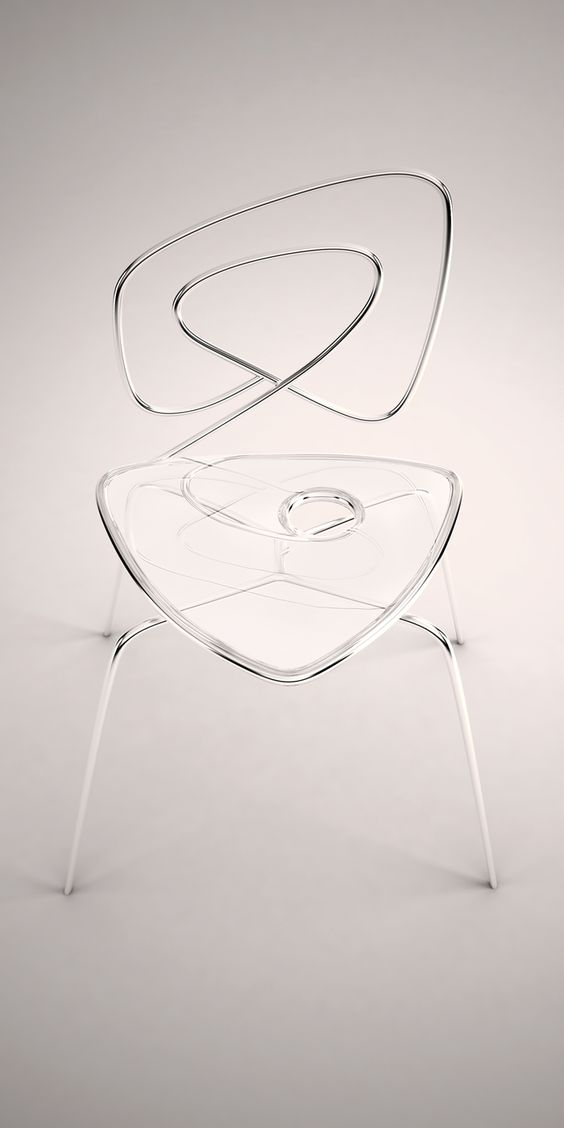 Acrylic Chair by ZO_loft