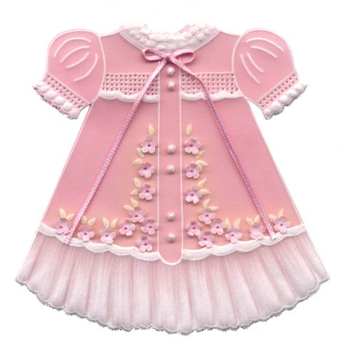 Cookie Idea  Pink Baby Dress timelesstreasure.theaspenshops.com ...
