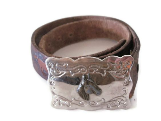 Vintage Boys Wranglers Belt With Buckle Vintage by PhotosPast, $20.00
