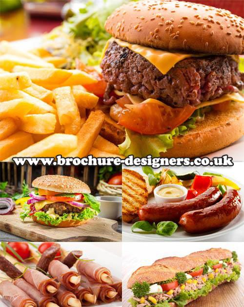 fast food images suitable for takeaway leaflet design wwwbrochure - food brochure