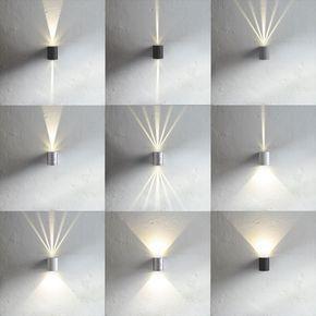 Baleno Led Wandleuchte Fur Aussen Und Innen Weiss 11167 Wandleuchte Fassadenbeleuchtung Hausbeleuchtung