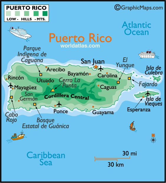 Best Puerto Rico Map Ideas On Pinterest Puerto Rico Trip - Puerto rico maps