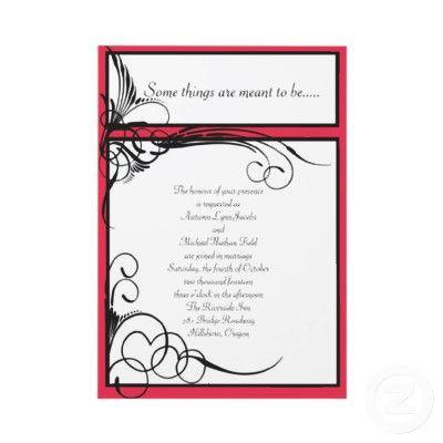 Wedding Invitations! | Karma Creations | Pinterest