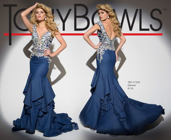 Tony Bowls Style TB117293 - View the Tony Bowls Collection now and contact a retailer near you to order the perfect designer dress for your social occasion!