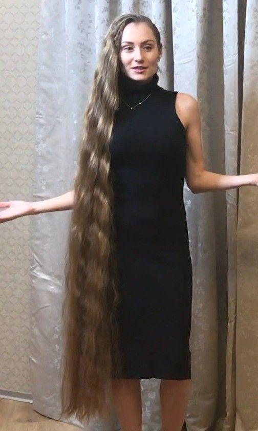 Video Black Dress Huge Buns Long Hair Styles Long Hair Community Beautiful Long Hair