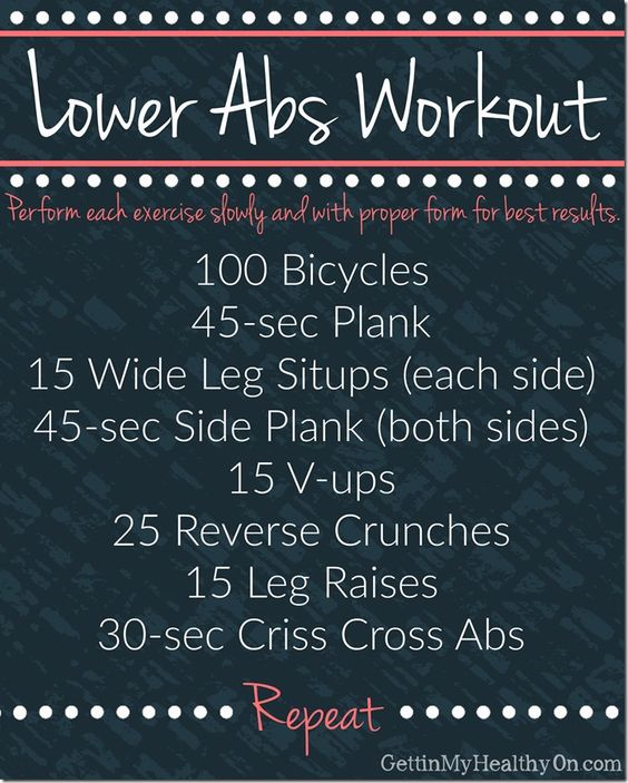 Challenge your lower abdominal muscles with this ab workout! It's one of my favorite exercise routines to work that trouble area and, ultimately, get a flat stomach.