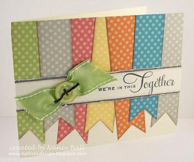 handmade card, pendants, ribbon