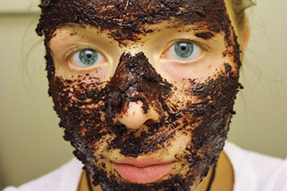 Homemade Chocolate Coffee Face Mask