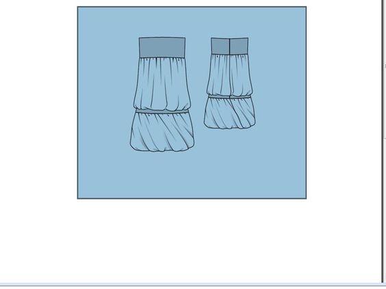 yo elijo coser: Descargar 2 patrones gratis: vestido y falda abullonada