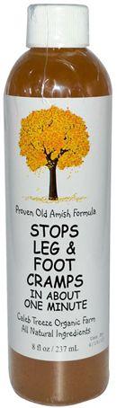 Stops Leg and Foot Cramps 8 fl oz (237 mL) Bottle