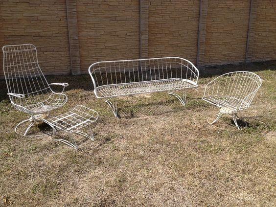 Mid century patio chairs mid century homecrest for Homecrest outdoor furniture