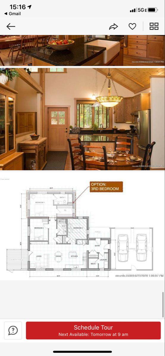 Floor Plan For Maine Cottage Maine Cottage Dream House Floor Plans