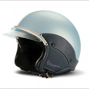 Vespa Soft Touch Helmet - Blue