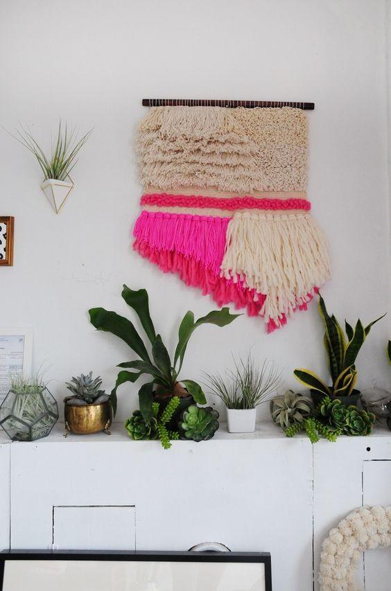 Plants and textile art