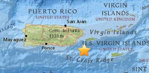 [AHORA] Se siente temblor en el este de Puerto Rico...