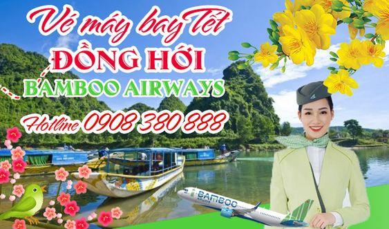 Giá vé máy bay Tết 2020 Sài Gòn - Đồng Hới