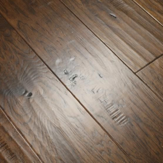 Hickory Cast Iron 1 2 X 6 1 2 Hand Scraped Engineered Hardwood Flooring Weshipfloors Wood Floors Wide Plank Hardwood Floors Flooring
