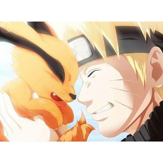 Kurama And Naruto Naruto Uzumaki Anime Naruto Naruto Shippuden Anime